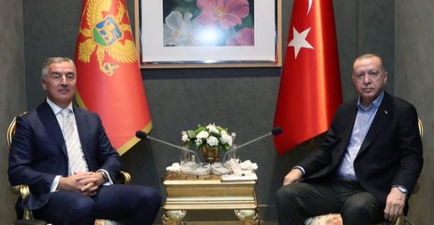 Cumhurbaşkanı Erdoğan, Karadağ Cumhurbaşkanı Djukanovic İle Görüştü