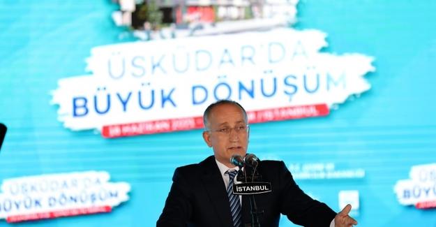 """TOKİ Başkanı Bulut:  """"TOKİ Olarak Bugüne Kadar 69 İl, 222 İlçede 260 Kentsel Dönüşüm Projesi Geliştirdik"""""""