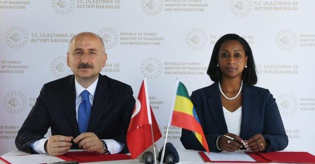 """Türkiye İle Etiyopya Arasında """"Teknik İş Birliği Mutabakat Zaptı"""" İmzalandı"""