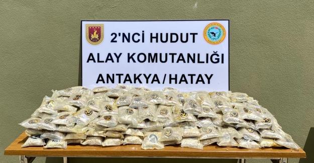 Van Ve Hatay Hudut Sınırında Uyuşturucu Madde Ele Geçirildi