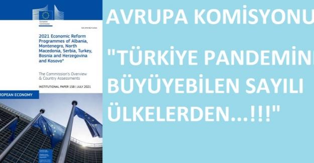 Avrupa Komisyonu: Türkiye Dünyada Büyüyebilen Az Sayıdaki Ülkelerden