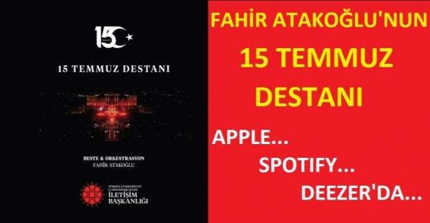 Fahir Atakoğlu'nun 15 Temmuz Senfonisi Raflarda