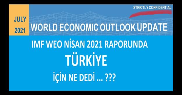"""IMF: """"Türkiye Fiyat Baskısını Azaltmak İçin Normalleşmeye Başladı"""""""