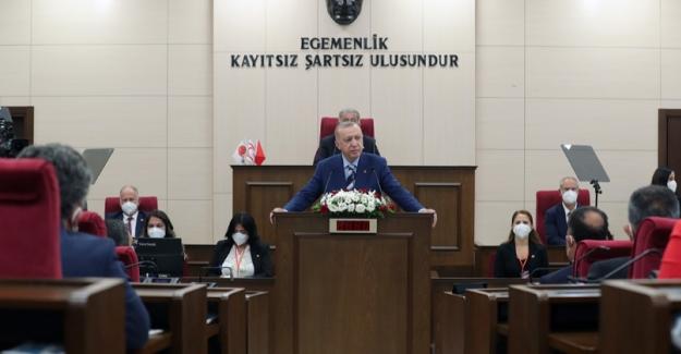 """""""Kıbrıs Davası'nın Sahibi, Yavru Vatanı İle Anavatanı İle Büyük Türk Milleti'nin Tamamıdır"""""""