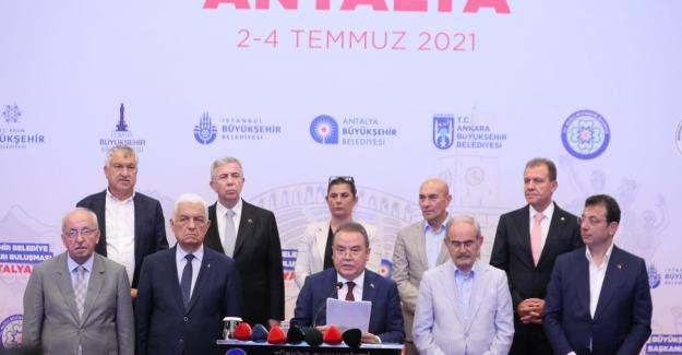 11 Büyükşehir Belediye Başkanından Ortak 'Tasarruf Genelgesi' Açıklaması
