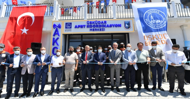 Üsküdar'da AFAD Merkezi Açıldı