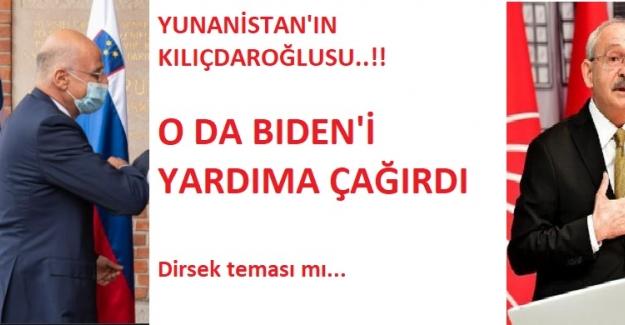 """""""Yunanistan'ın Kılıçdaroğlu'su"""" ABD'yi Doğu Akdeniz İçin Yardıma Çağırdı!"""