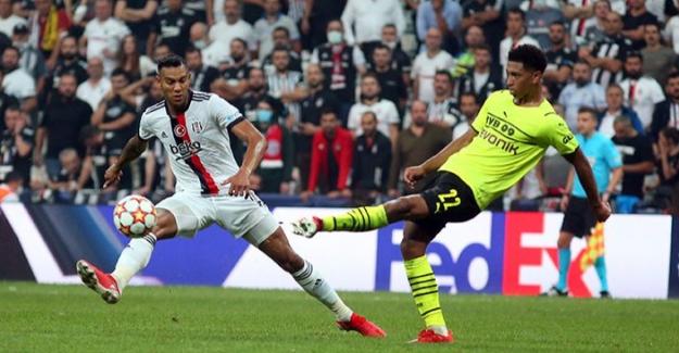 Beşiktaş, Vodafone Park'ta B. Dortmund'a Mağlup Oldu