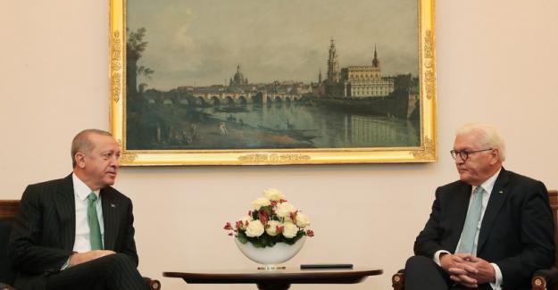 Cumhurbaşkanı Erdoğan, Almanya Cumhurbaşkanı Steinmeier İle Telefonda Görüştü