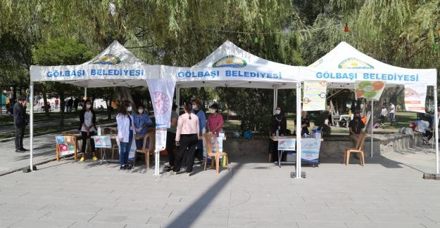 Gölbaşı Belediye Başkanı Şimşek'ten Aşı Etkinliği