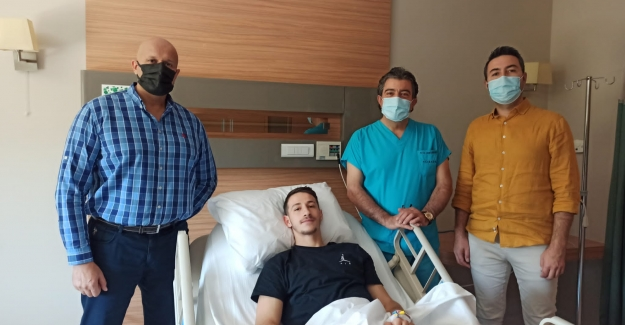 Manisa FK Oyuncusu Ameliyat Oldu