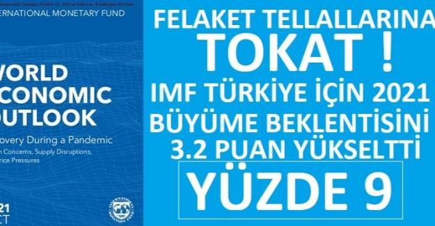 IMF Türkiye Büyüme Tahminini Yüzde 5.8'den 9'A Yükseltti
