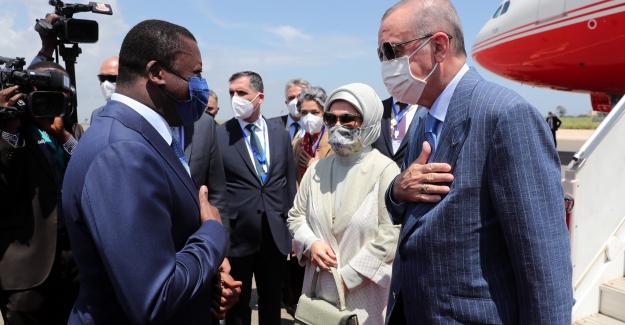 Cumhurbaşkanı Erdoğan, Togo'da