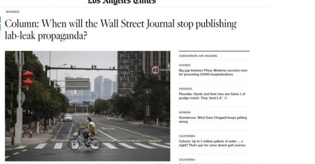 Los Angeles Times: Virüsün Laboratuvardan Yayıldığı İddiası Doğru Değil