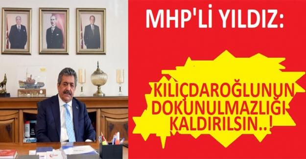 MHP: Kılıçdaroğlu'nun Dokunulmazlığı Kaldırılmalı