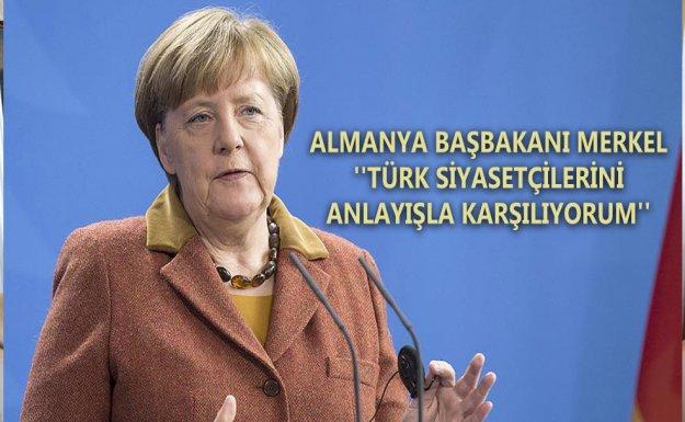 Almanya Başbakanı Merkel : Suriye'de Uçuşa Yasak Bölge Yararlı Olacaktır