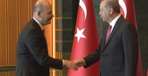 Cumhurbaşkanı Erdoğan 30 Ağustos Zafer Bayramı Tebriklerini Kabul Etti