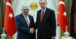 Cumhurbaşkanı Erdoğan Başbakan Yıldırım İle Görüşecek