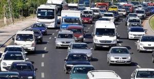 Trafiğe Kayıtlı Araç Sayısı 22 Milyon 731 Bin 759 Oldu