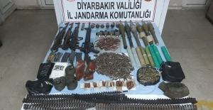 Diyarbakır'ın Hani, Kulp ve Silvan ilçelerinde Çok Sayıda Mühimmat Ele Geçirildi
