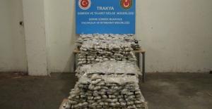 Kapıkule Sınır Kapısı'nda  454 Kilogram 38 Gram Eroin Ele Geçirildi
