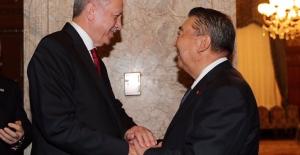 Cumhurbaşkanı Erdoğan, Japonya Temsilciler Meclisi Başkanı Tadamori İle Görüştü