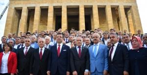 Şişli Belediye Başkanı Muammer Keskin'den Anıtkabir Ziyareti