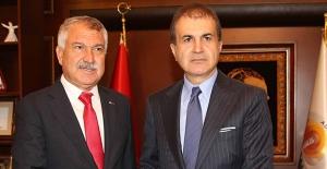 AK Parti Sözcüsü Çelik'ten Başkan Karalar'a Ziyaret