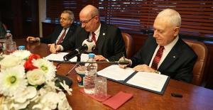 ATO Ve Başkent Üniversitesi Arasında Yapılan İşbirliği Protokolünü, Baran Ve Haberal İmzaladı
