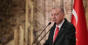 Cumhurbaşkanı Erdoğan, Macron Ve Merkel İle Telefonda Görüştü