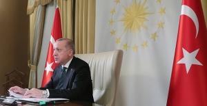 Cumhurbaşkanı Erdoğan, Fransa, Almanya Ve Birleşik Krallık Liderleri İle Dörtlü Zirve Gerçekleştirdi