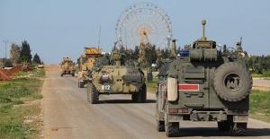 İdlib'de 3'üncü Türk-Rus Birleşik Kara Devriyesi İcra Edildi
