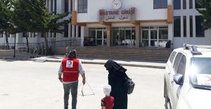 Kızılay'dan Savaş Mağduru Küçük Halid'e Şefkat Eli