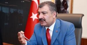 """Sağlık Bakanı Koca: """"Mücadeleyi Ancak Hep Birlikte Yürütürsek Başarabiliriz"""""""