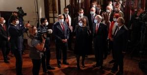 CHP Genel Başkanı Kılıçdaroğlu, Cumhuriyet Bayramı'nda I. Meclis'i Ziyaret Etti