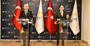 Akşener Ve Kılıçdaroğlu'ndan Ortak Basın Açıklaması