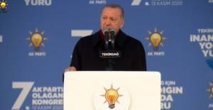 """Cumhurbaşkanı Erdoğan: """"AK Parti ile Türkiye'nin Kaderi Aynıdır"""""""