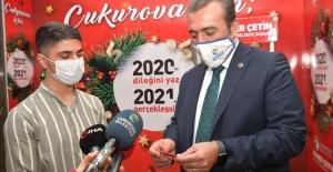 """Başkan Çetin: """"2020'de Dileyin 2021'de Gerçekleştirelim"""""""