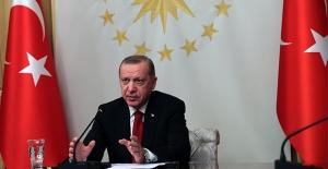 Cumhurbaşkanı Erdoğan, Almanya Başbakanı Merkel İle Bir Videokonferans Görüşmesi Gerçekleştirdi