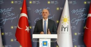 """İYİ Parti Kalkınma Politikaları Başkanı Özlale: """"TCMB Başkanı Ağbal'ın Fiyat İstikrarına Yaptığı Vurguyu Önemli Buluyoruz"""""""