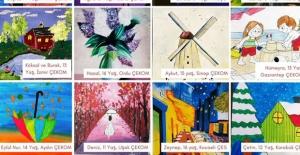 Devlet Korumasındaki Çocukların Eserleri, 2021 Yılı Takvimini Donattı