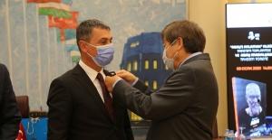 Gölbaşı Belediye Başkanı Şimşek'e Abay Madalyası Takdim Edildi