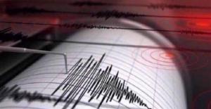 Ege Denizi'nde 4,2 Şiddetinde Deprem