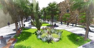 Kuşadası Belediyesi'nden Barbaros Bulvarı'na Yeşil Dokunuş