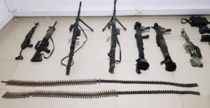 MSB: Gara'daki Mağarada Teröristlere Ait Pek Çok Silah Ve Mühimmat Ele Geçirildi