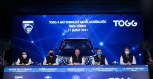 """""""TOGG-Meteoroloji Genel Müdürlüğü İş Birliği, Mobilite Ekosistemimizde Öncü Bir Adım Olacak"""""""