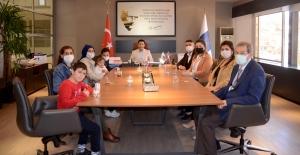 Kuşadası Belediye Başkanı Ömer Günel'e Çok Özel Ziyaret