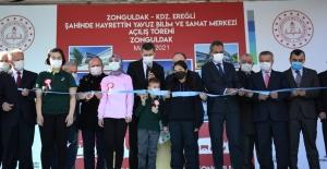 Bakan Selçuk, Zonguldak'ta Bilim Ve Sanat Merkezinin Açılışını Gerçekleştirdi