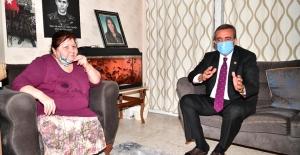 Başkan Soner Çetin'den Şehit Annesine Ziyaret