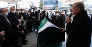 Cumhurbaşkanı Erdoğan, İçişleri Bakanı Soylu'nun Annesi Servet Soylu'nun Cenaze Törenine Katıldı